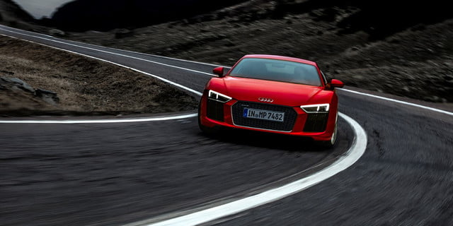 Audi R8 And Rs 7 Head To Transylvania For Halloween
