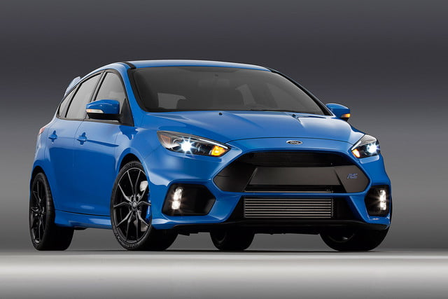 ford focus rs pricing performance specs news 16fordfocusrs 01 hr