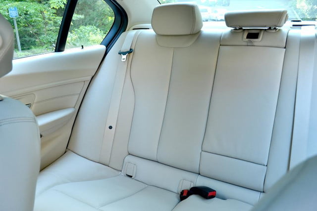 2012 bmw 335i review interior back right seat