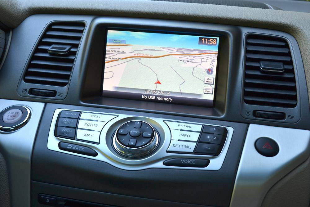 2012 Nissan Murano Sl Awd Review Digital Trends