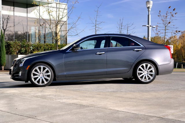 2013 cadillac ats review left side