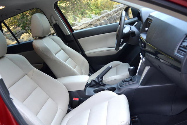 2013 mazda cx 5 review interior front seats