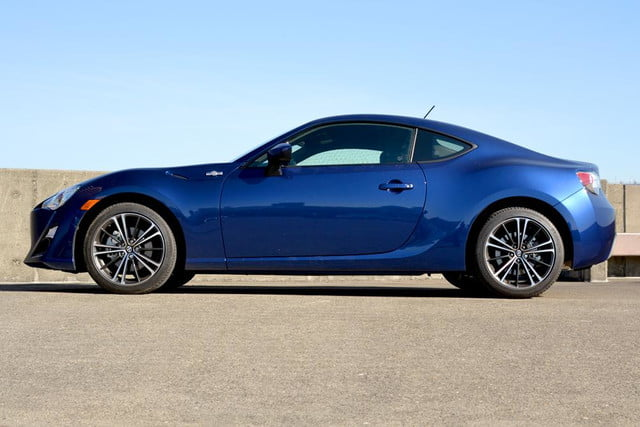 2013 scion fr s review exterior left side
