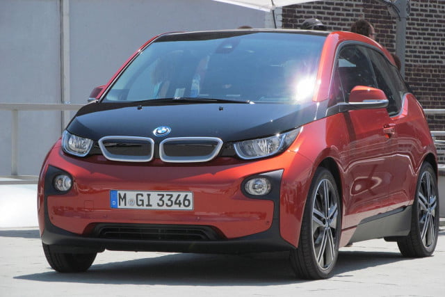 2014 BMW I3 Reveal Exterior Red Front Left