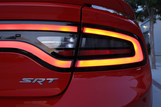 2015 Dodge Charger SRT Hellcat taillight