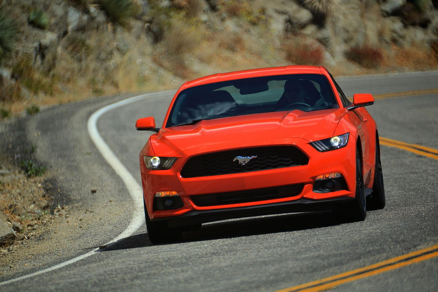 first drive ford mustang driving - Sports Cars 2015 Mustang