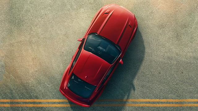 2015 Ford Mustang overhead