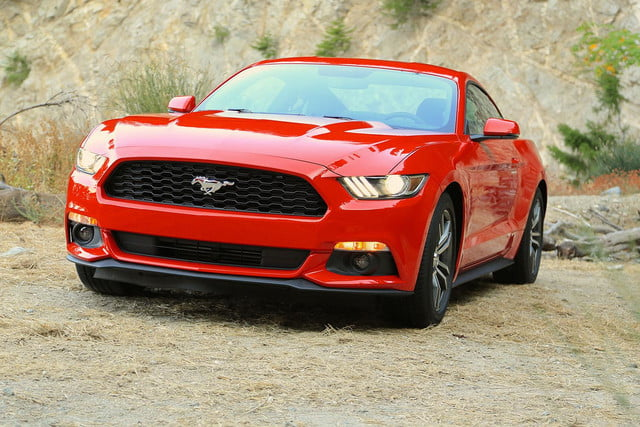 2015 Ford Mustang right angle