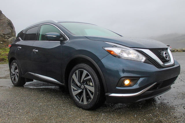 2015 Nissan Murano review front angle 2