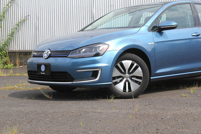 2015 vw e golf volkswagen front section