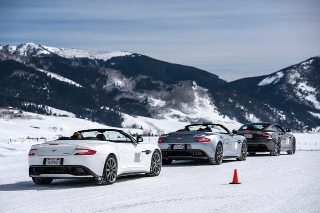 2016 aston martin on ice first drive 02 am track