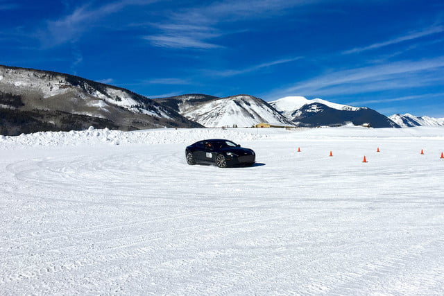 2016 aston martin on ice first drive track 2