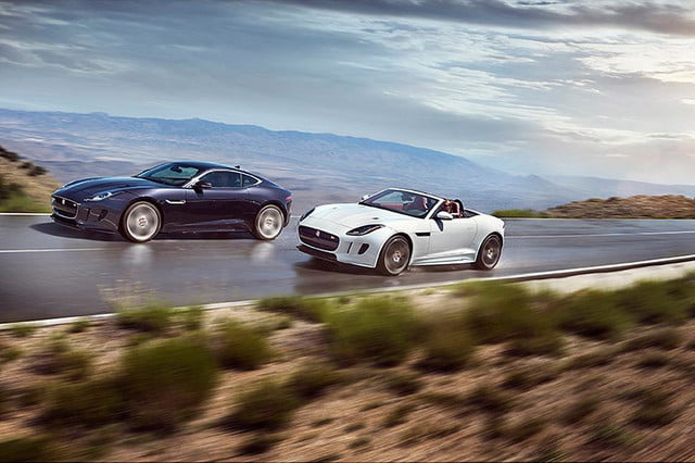 2016 Jaguar F-TYPE AWD S Coupe and AWD R Convertible