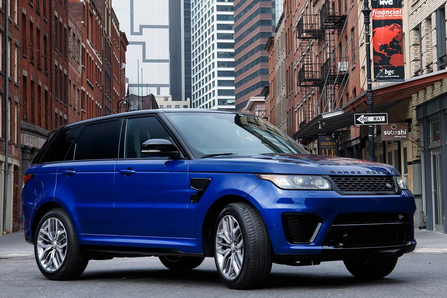 2016 land rover range rover sport svr first drive review. Black Bedroom Furniture Sets. Home Design Ideas