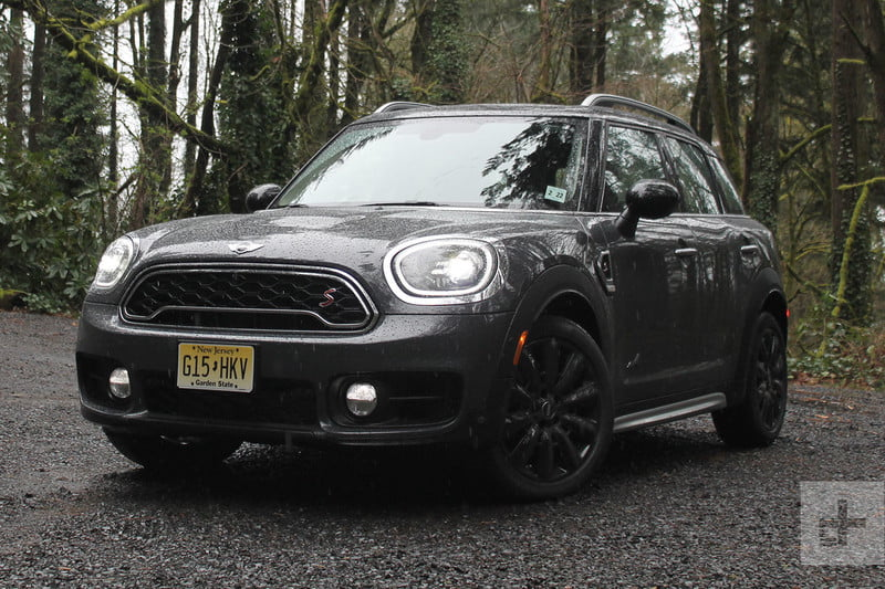 2017 Mini Cooper S All4 Countryman Front Left Angle