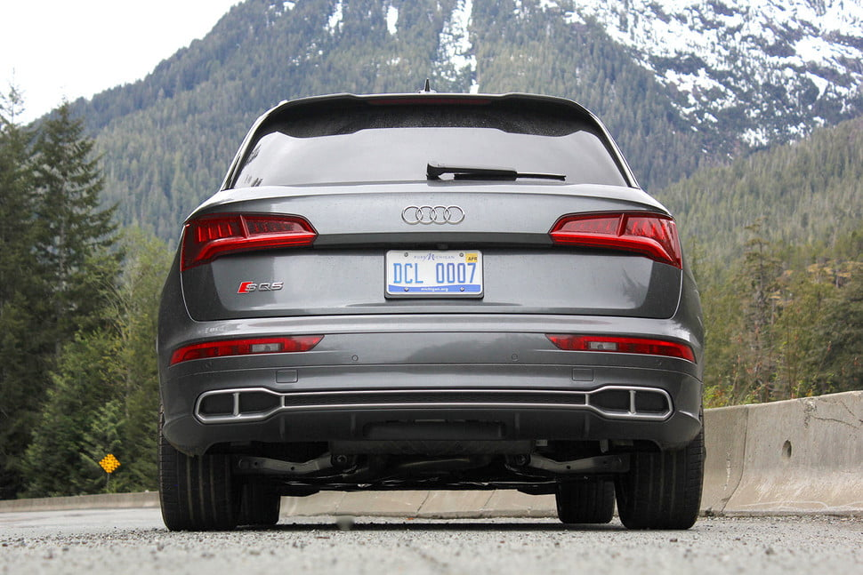 2018 SQ5 Exhaust Outlets