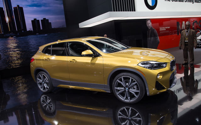 the 2018 bmw x2 takes its official worldly bow in detroit  1