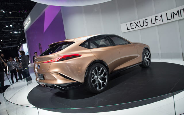 the lexus lf 1 limitless concept previews a new direction for flagship crossover 2018 detroit  9