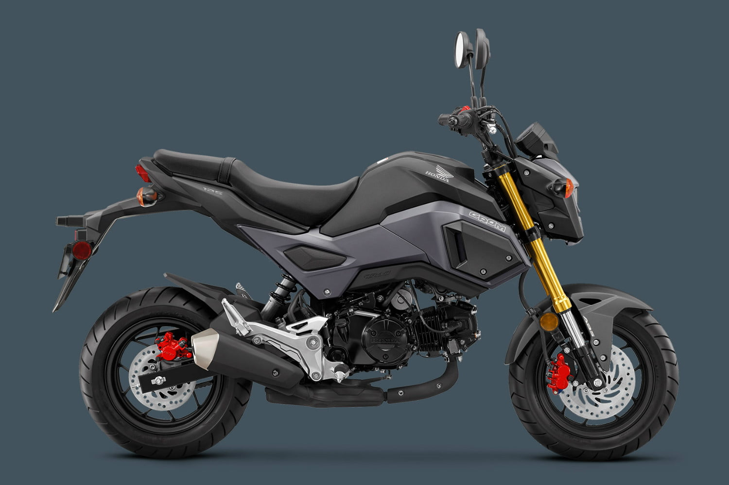 The 2018 honda grom motorcycle adds abs as an option for Honda grom mpg