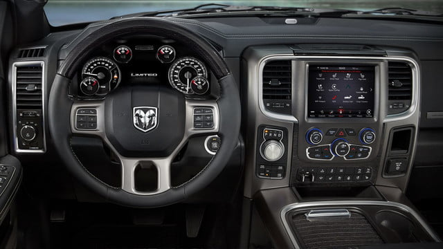 2018 Ram 1500 Limited Interior