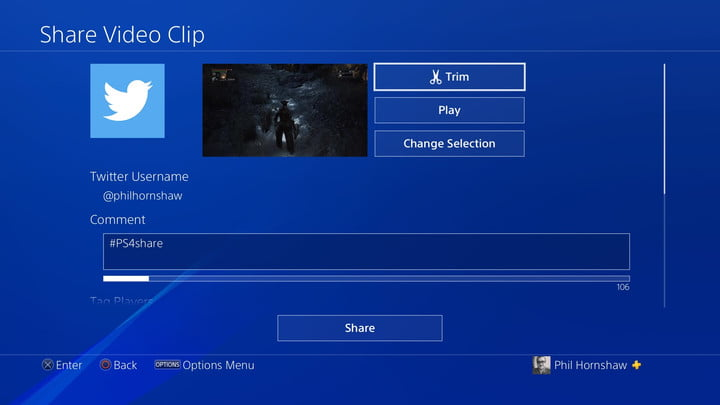 trim how to record a gameplay video on ps4