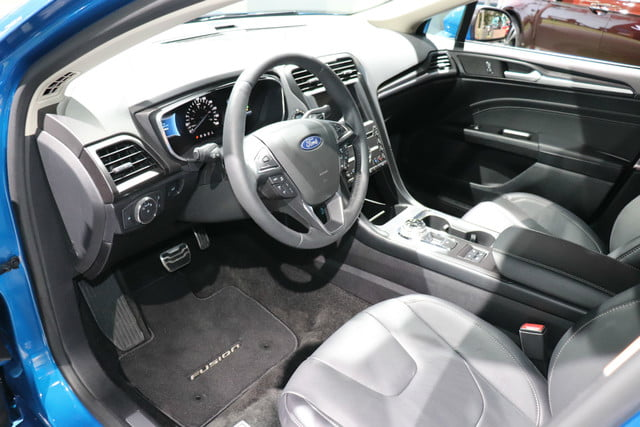ford fusion  debut    york auto show digital trends