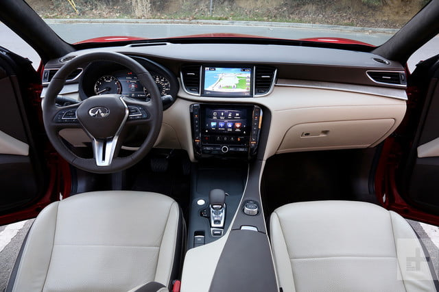 2019 Infiniti QX50 first drive review front seats