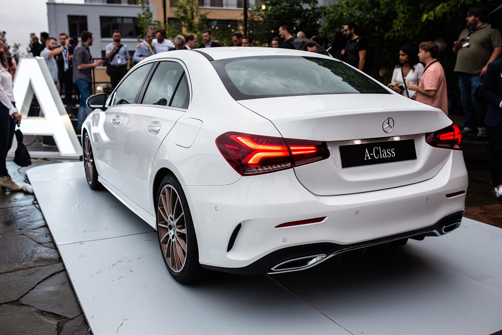 The 2019 mercedes benz a class sedan brings stuttgart for Mercedes benz class s