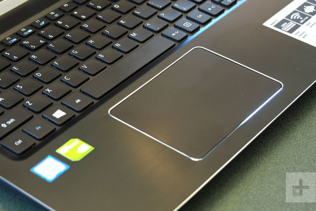 Acer Aspire 5 review trackpad