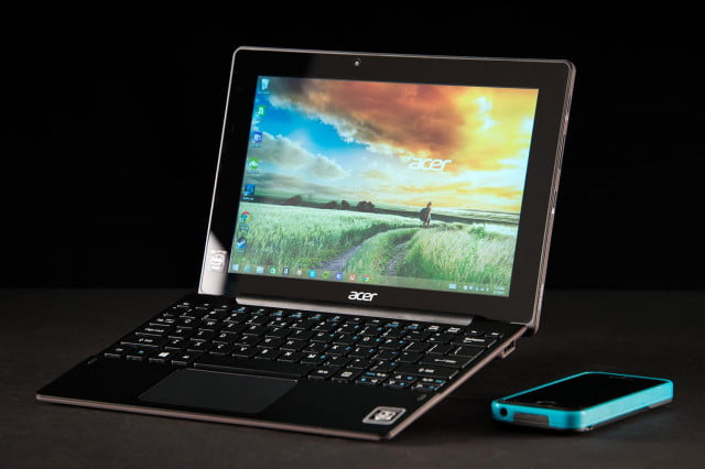 ACER Aspire Switch 10 front angle phone