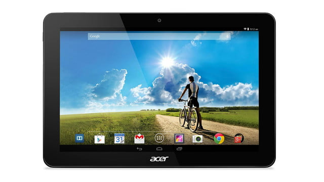embargo 93 620am et acer goes tablet crazy ifa 2014 iconia tab 8 w 10 one front grey press image
