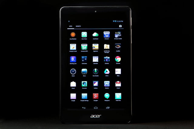 ACER Iconic ONE 7 app grid 2