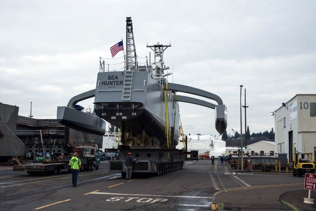 darpa officially christens the actuv in portland launch 1