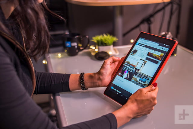 Amazon Fire HD 10 review (2017) DT homepage