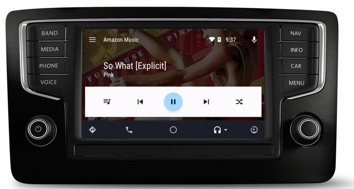 Android Head Unit Launcher