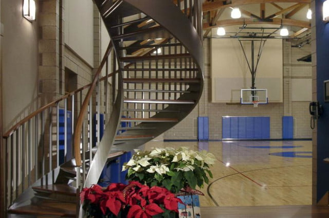 homes with indoor basketball courts amdg architects court