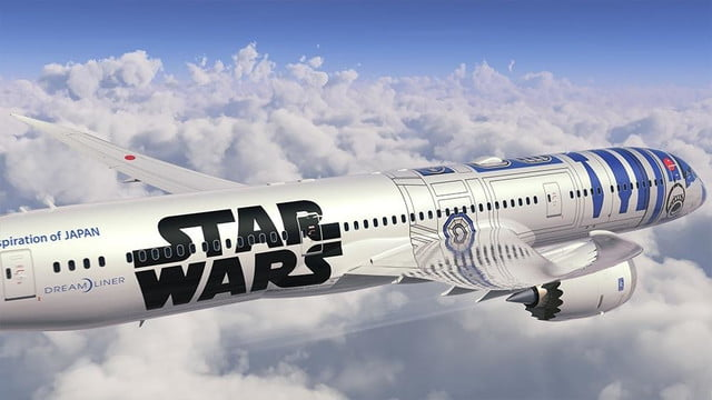 anas r2 d2 jet will be the closest to flying in a star wars spacecraft ana 4