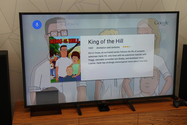 Android TV hands on