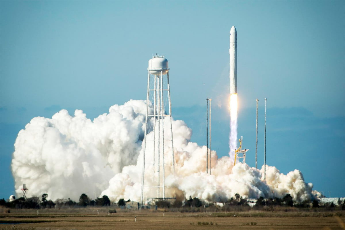 Antares Rocket Launches