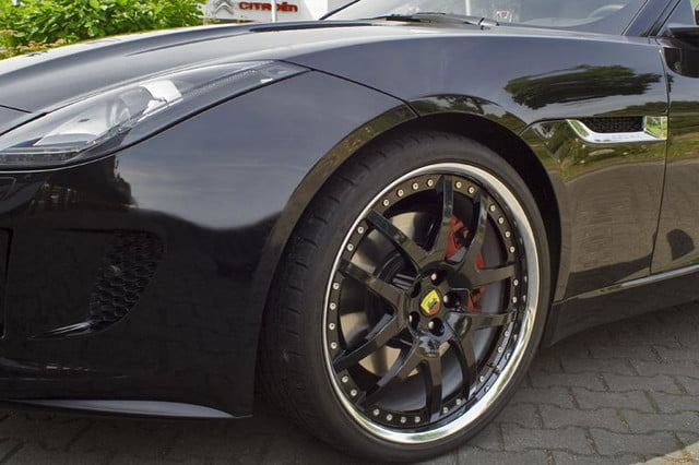2015 jaguar f type coupe tuned by arden press image wheel