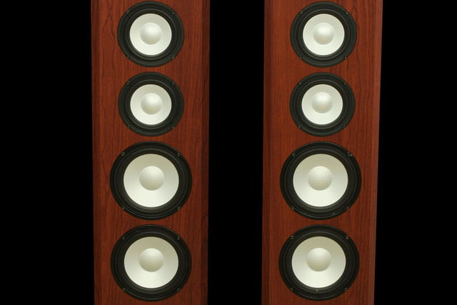 Axiom LFR1100 Floorstanding Speakers front macro