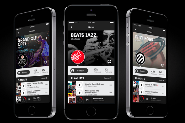 beats music review playlists