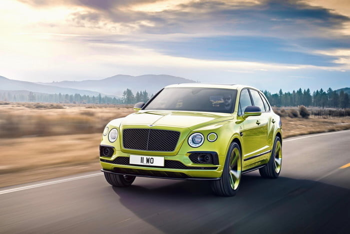 Bentley Bentayga Pikes Peak Limited Edition