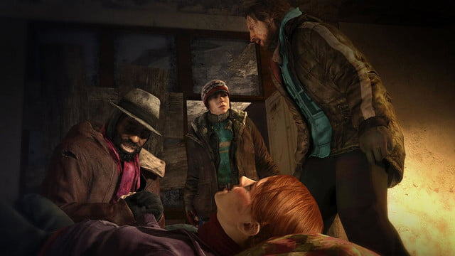 Beyond Two Souls Homeless Birth 03