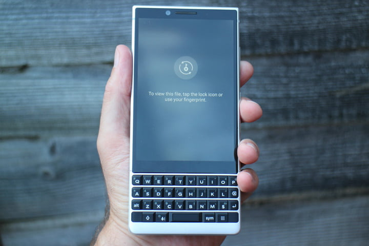 how to use blackberry locker secure