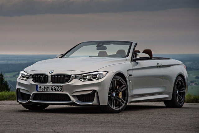 BMW M4_Convertible_2015_front Angle
