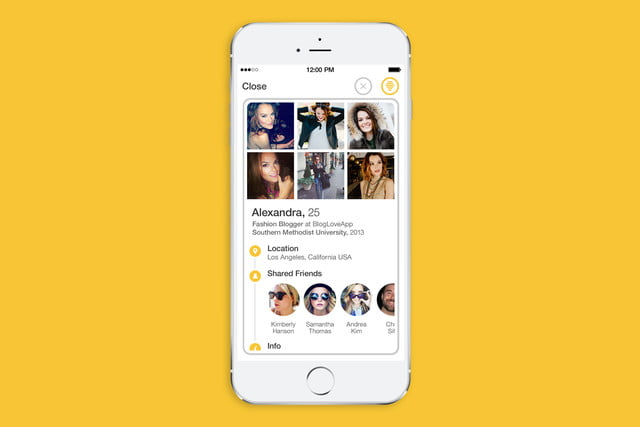Bumble dating app locations