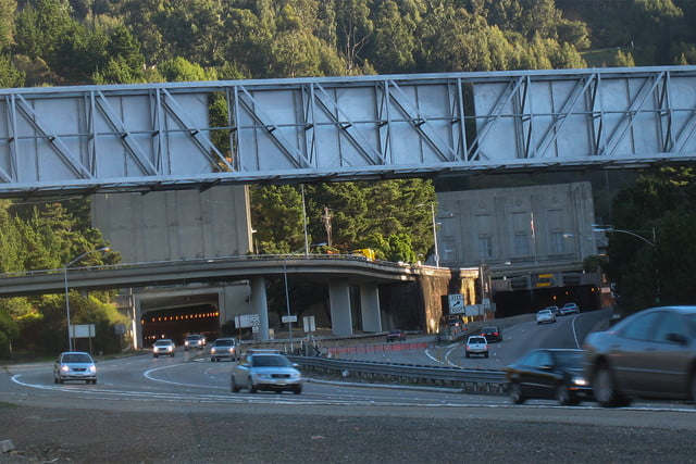 10 famous movie locations you can actually visit caldecott tunnel v2