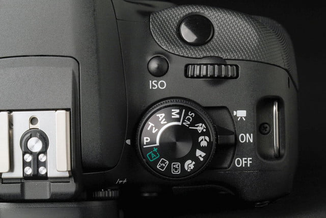 Canon Rebel SL1 settings dial
