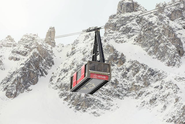 airbnbs new a night at contest is for cable car in the french alps courchevel airbnb d0590253